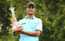 India's Shubhankar Sharma claimed a maiden European Tour title at the rain-hit Joburg Open on Monday 11 December 2017. Picture: Instagram/@Europeantour