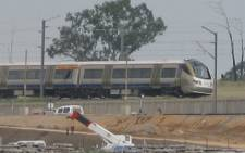The Gautrain, spotted in Buccleuch on Tuesday 27 January 2009. Picture: Rose Newman/iWitness