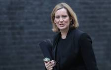 Britain's Home Secretary Amber Rudd arrives for a Brexit cabinet meeting at number 10 Downing Street, in central London on 29 January 2018. Picture: AFP