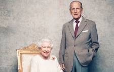 FILE: The new photograph released to commemorate the 70th wedding anniversary of Queen Elizabeth and Prince Philip. Picture: Kensington Palace.