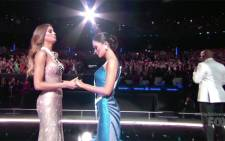 The Miss Universe mistake saw Steve Harvey crown the wrong winner. Picture: CNN/screengrab.