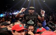 FILE: Boxer Floyd Mayweather in 2013 in Las Vegas, Nevada. Picture: AFP.