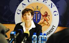 Gauteng Education MEC Barbara Creecy
