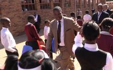 Gauteng Education MEC Panyaza Lesufi. Picture: Vumani Mkhize/EWN.