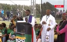 A screengrab of the beginning of the ANC's 106th anniversary celebrations.