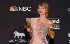 Taylor Swift with her 2018 Billboard Music awards. Picture: AFP