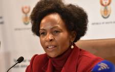 Minister of International Relations and Cooperation Maite Nkoana-Mashabane. Picture: GCIS.