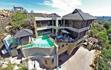 An outside view of Radovan Krejcir's multi-million rand, multi-storey house in Bedfordview, which went under the hammer on 28 November 2015. Picture: michaeljames.co.za.