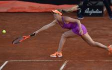 Elina Svitolina won the women's singles at the Italian Open final. Picture: Twitter/@InteBNLdItalia.