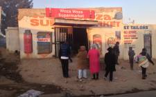 Two Zimbabweans were shot dead by a Somalian shopkeeper in Diepsloot, Johannesburg. Picture: Govan Whittles/EWN.