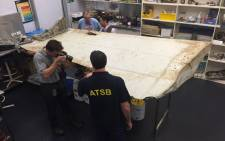 A new piece of possible aircraft debris from flight MH370 was sent for testing after being found on Pemba Island. Picture: atsb.gov.au