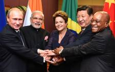 Brics leaders. Picture: GCIS.
