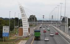 An e-toll gantry on the N1 in Johannesburg. Picture: Christa van der Walt/EWN
