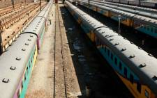 FILE PICTURE: Train coaches. Picture: Werner Beukes/SAPA