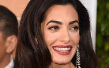 FILE: Amal Clooney attends the 72nd Annual Golden Globe Awards at The Beverly Hilton Hotel on 11 January, 2015 in Beverly Hills, California. Picture: AFP