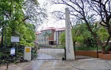 Hoërskool Langenhoven in Pretoria. Picture: Google Earth