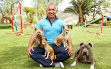 'Dog Whisperer' Cesar Millan. Picture: Official Cesar Millan Facebook page.