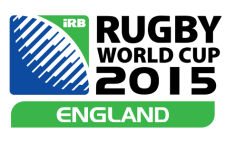 The 2015 Rugby World Cup logo. Picture: Supplied