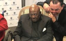 Archbishop Emeritus Desmond Tutu pictured at the 7th Annual Desmond Tutu International Peace Lecture on 9 October 2017. Picture: Kevin Brandt/EWN
