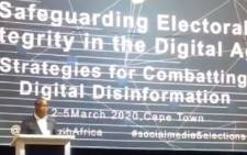The IEC and United Nations Development Programme is hosting a three-day conference on Safeguarding Electoral Integrity in the Digital Age - Strategies for Combating Digital Disinformation. Picture: Kevin Brandt/EWN
