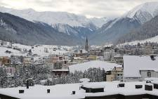 The mountainous town of Davos in Switzerland hosts the 46th annual World Economic Forum between 20-23 January 2016. Picture: Reinart Toerien/EWN