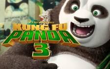 FILE: 'Kung Fu Panda 3' poster. Picture: Youtube screengrab.