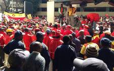 Around 80,000 workers belonging to the NUM will down tools in the gold mining sector. Picture: EWN