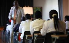File: A CT high school pupil is suspended after setting his teacher's hair alight in class. Picture: Taurai Maduna/EWN
