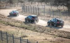 A convoy of blue light vehicles make their way to former President Jacob Zuma's Nkandla home in KwaZulu-Natal on 22 July 2021. Picture: Abigail Javier/Eyewitness News