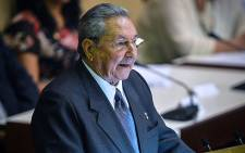 FILE: Former Cuban President Raul Castro delivers a speech during the new National Assembly meeting in Havana on 24 February 2013. Picture: AFP.