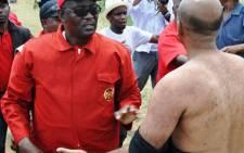 Fighting for the people: Cosatu General Secretary Zwelinzima Vavi says workers need to be heard. Picture: Tshepang/iWitness
