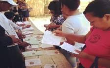 Madagascan elections 2013. Picture: www.facebook.com/DrRobinsonJL