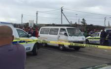 A father and son were shot and killed in Lavender Hill in what is believed to be taxi feud related attack on 15 October 2015. Picture: Siyabonga Sesant/EWN.