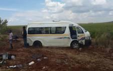 Taxi crash on the R54 in Vereeniging. Picture: @Netcare911_sa.