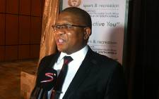 Sport and Recreation Minister Fikile Mbalula. Picture: Lelo Mzaca/EWN