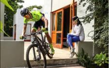SA MTB rider Matthys Beukes. Credit: Credit: @matthys_beukes