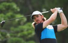 Tommy Fleetwood of England tees off at the 11th hole during the second round of the PGA Zozo Championship golf tournament at the Narashino Country Club in Inzai, Chiba prefecture on 26 October 2019. Picture: AFP