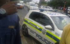 FILE: At least three people, including a motorist and two hijackers, were killed in the shooting in Riverlea - south-west of Johannesburg - on Saturday. Picture: @SAPoliceService.