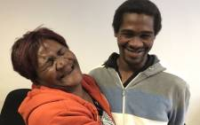 FILE: Jane Daniels was reunited with her son Denzil after six years on 28 June 2019.  The mentally challenged man vanished without a trace in 2019. Picture: Lauren Isaacs/EWN.