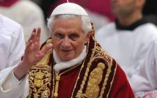 Pope Benedict will be known as Pope Emeritus after his resignation. Picture: AFP