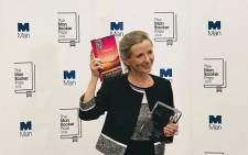 Anna Burns won the 2018 Man Booker Prize. Picture: @ManBookerPrize/Twitter