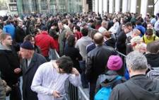 FILE: The number of Americans filing new applications for jobless benefits fell more than expected to near a 42-year low last week. Picture: Supplied.