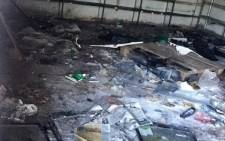 Foreign-owned shops were looted on Monday 29 May 2017 after KwaMashu residents accused the owners of kidnapping children and selling them for body parts. Picture: Ziyanda Ngcobo/EWN.
