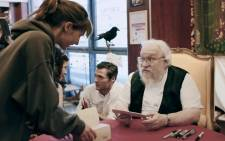FILE: US writer George RR Martin, author of the 'Game Of Thrones' books, at a book signing in 2014 in Dijon, eastern France. Picture: AFP
