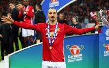 FILE: Manchester United's Zlatan Ibrahimovic proved his hunger for silverware has not diminished with age as the Swede's double earned a 3-2 win over Southampton in an absorbing League Cup final at Wembley on 26 February 2017. Picture: Facebook.