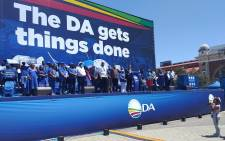Democratic Alliance (DA) leader John Steenhuisen at a rally in Johannesburg. Picture: Jacques Hoon.