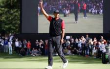 Tiger Woods won the Zozo Championship on 28 October 2019 in Japan. Picture: @TigerWoods/Twitter.