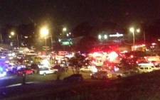 The scene of an accident in Pinetown on Thursday 5 September 2013. Picture: @Jus2wittin/Twitter
