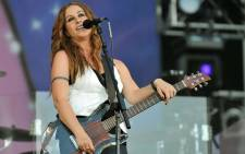FILE: In this file photo taken on 27 June 2008 Canadian singer Alanis Morissette performs on stage at the Rock in Rio Madrid music festival in Arganda del Rey near Madrid. Picture: AFP.