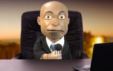 Chester Missing the puppet political analyst. Picture: Supplied